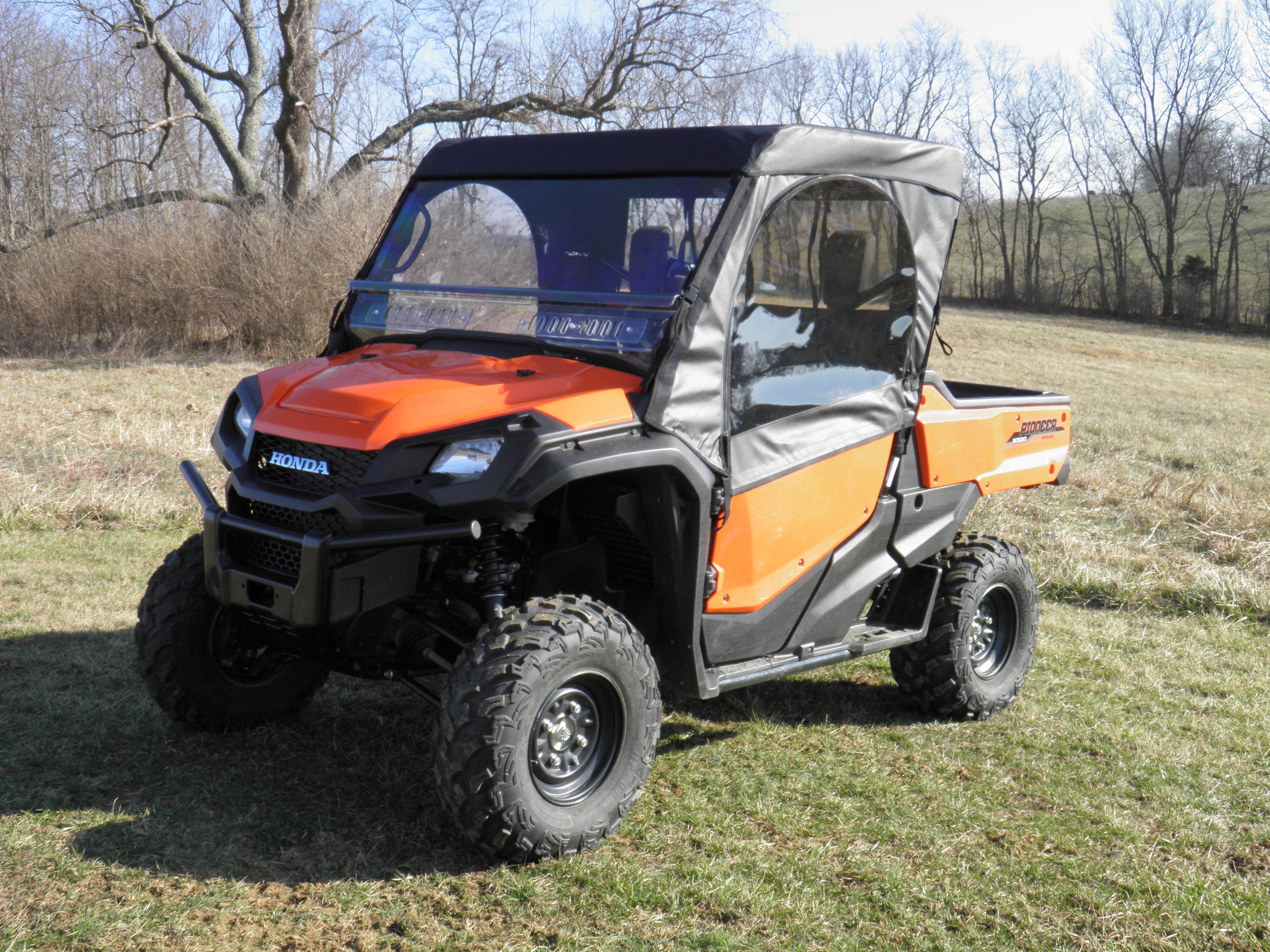Honda Pioneer 700 Soft Full Enclosure With Lexan