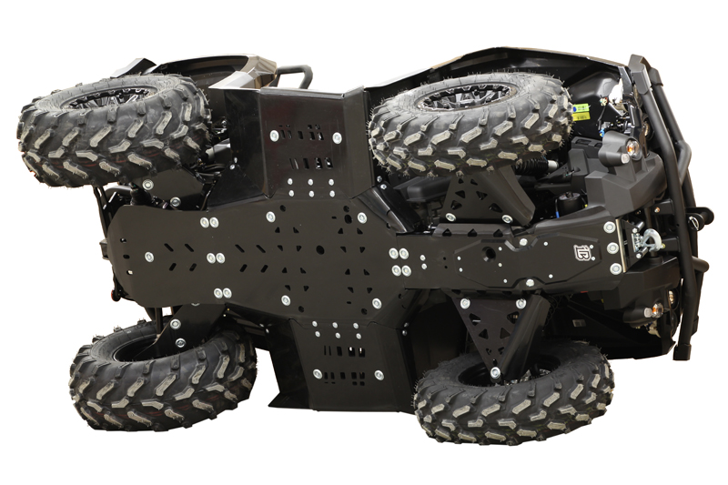 Can Am 1000 >> Brp Can Am Skid Plate Full Set Plastic Hdpe Canam G2 Outlander